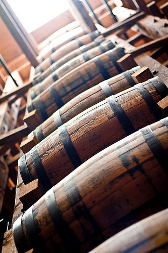 Go to the light - Seagrams barrels at CIGI | Flickr - Photo Sharing!