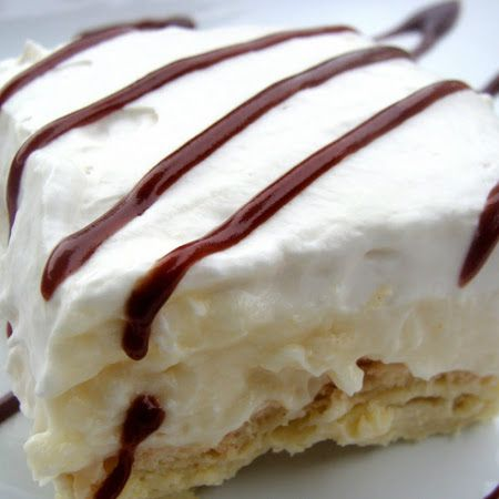 Cream Puff Cake---seems easy enough!