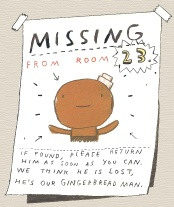 Great printable teacher guide for The Gingerbread Man Loose in the School-posters, coloring pages, games. It's a very cute rhyming story, great for back to school.