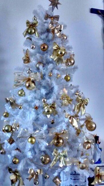 decorar arvore de natal branca ? Doitri.com