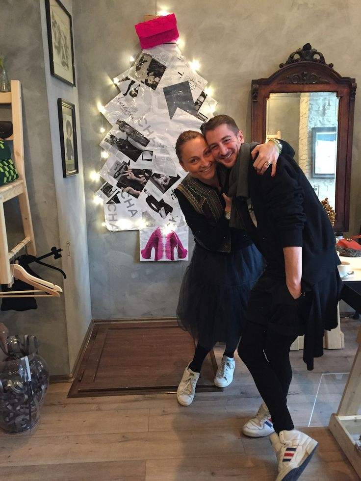Irina Milenkovici & Omar Albitar. They are among the most eclectic and sparkling people that I know. For now they are running a very chic concept store in the heart of Bucharest, OI, on Franklin Str. 9