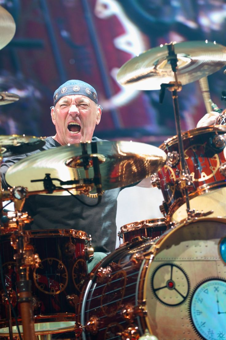 Neil Peart- RUSH KFC Yum Center, 2011
