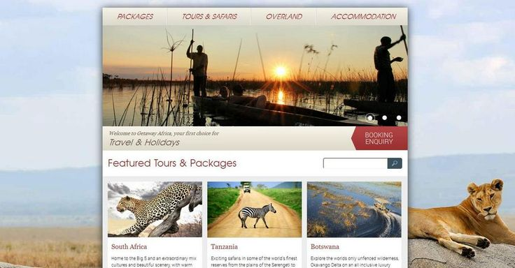 Booking Holidays, Safaris & Tours in Africa....http://www.getawayafrica.com/