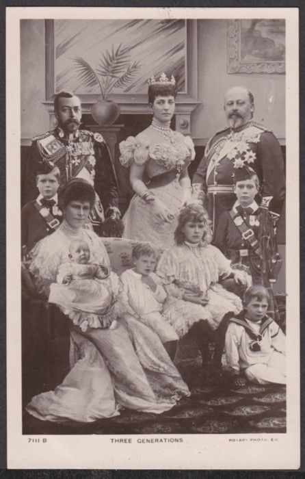King Edward VII and family