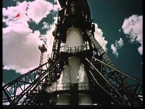 April 12, 1961 - Awesome Video of the First Human Spaceflight In History... That North Korean rocket was crap, unlike the Vostok 1, the mighty Soviet rocket that launched the first man to ever reach space on April 12, 1961: Yuri Gagarin. Watch it here... http://gizmodo.com/5901583/awesome-video-of-the-first-human-spaceflight-in-history