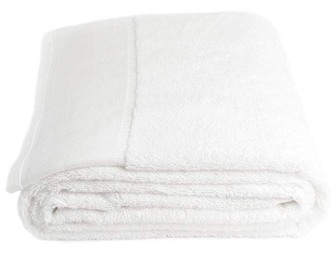 6 pack gift set luxury bath towels set soft plush cotton hotel resort **beige**