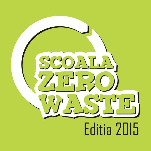 """Au început înscrierile pentru Concursul Național """"Școala Zero Waste"""", editia 2015"""