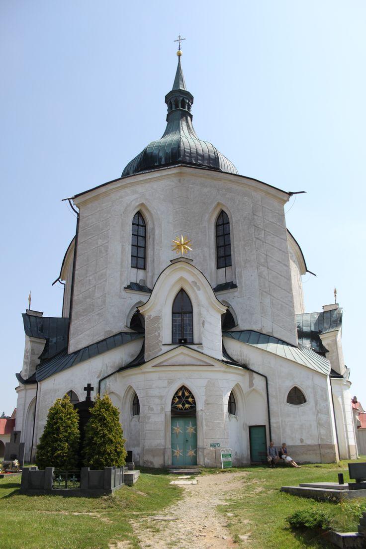 Pilgrimage Church of St. John of Nepomuk Žďár nad Sázavou architect Jan Santini Aichl