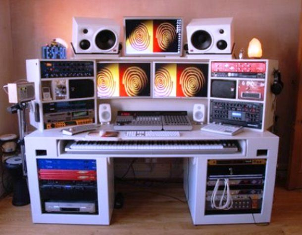 home music studio decorating ideas | music | Pinterest