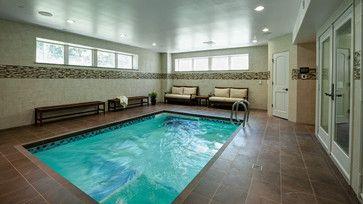 Really cool basement interior design photos basement for Basement swimming pool ideas