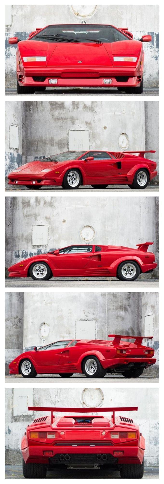 25th Anniversary edition Lamborghini Countach #Wild