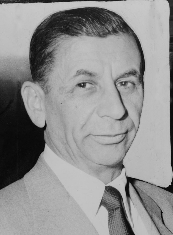 Meyer Lansky * Lansky was a mobster who was instrumental in the rise to power of mobsters like Lucky Luciano and Bugsy Siegel.
