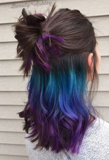 Underlights: The rainbow hair-dye you can sport at the office