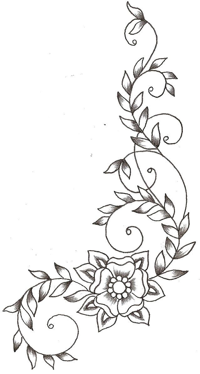 Coloring Book Vine Designs Coloring