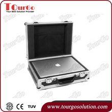 Tourgo Universal 15inch Laptops Utility Flight Case Laptop Storage Road Case Handle and Wheel