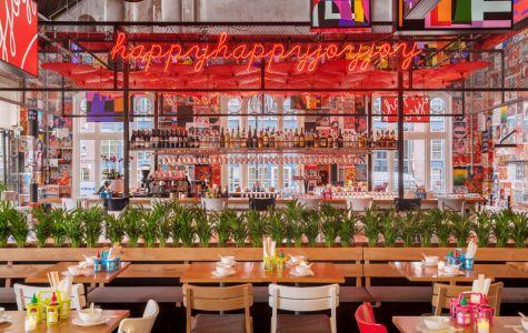 IQ Creative en Julius Jaspers slaan met Happyhappyjoyjoy een Aziatische weg in en halen het beste uit Azië naar Amsterdam. Ontdek deze nieuwe hangout met op het menu een spannende mix van zoet, zuur, zout, bitter en umami.