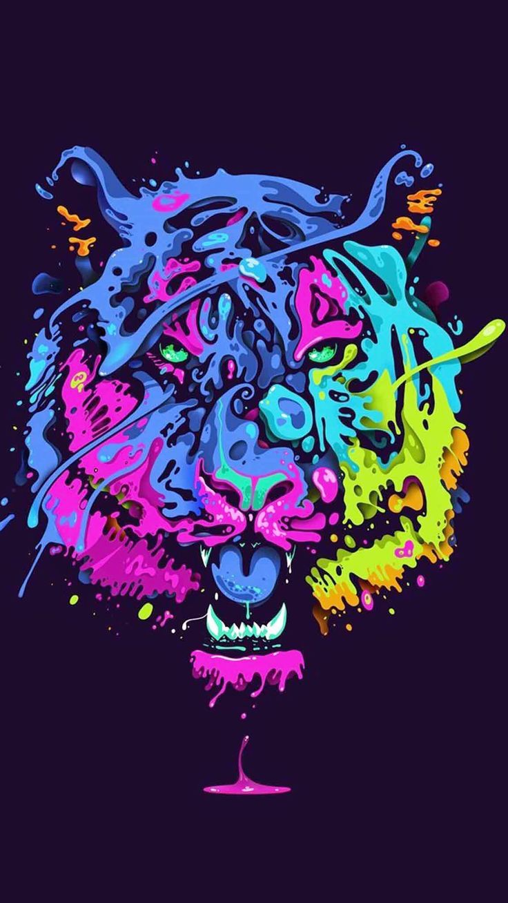 Color and art - Tiger Color Art
