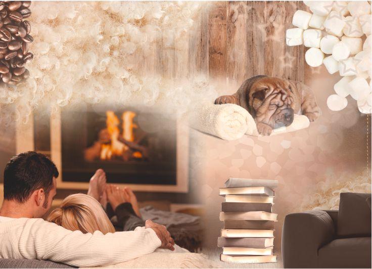 Barwy naturalnego lnu, aromatycznego cynamonu i miękkiej bawełny sprawią, że poczujesz się błogo, beztrosko i bezpiecznie. www.tikkurila.pl