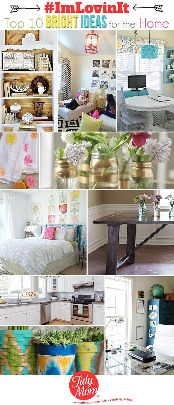 Top 10 Bright Ideas for the Home at TidyMom.net #ImLovinIt