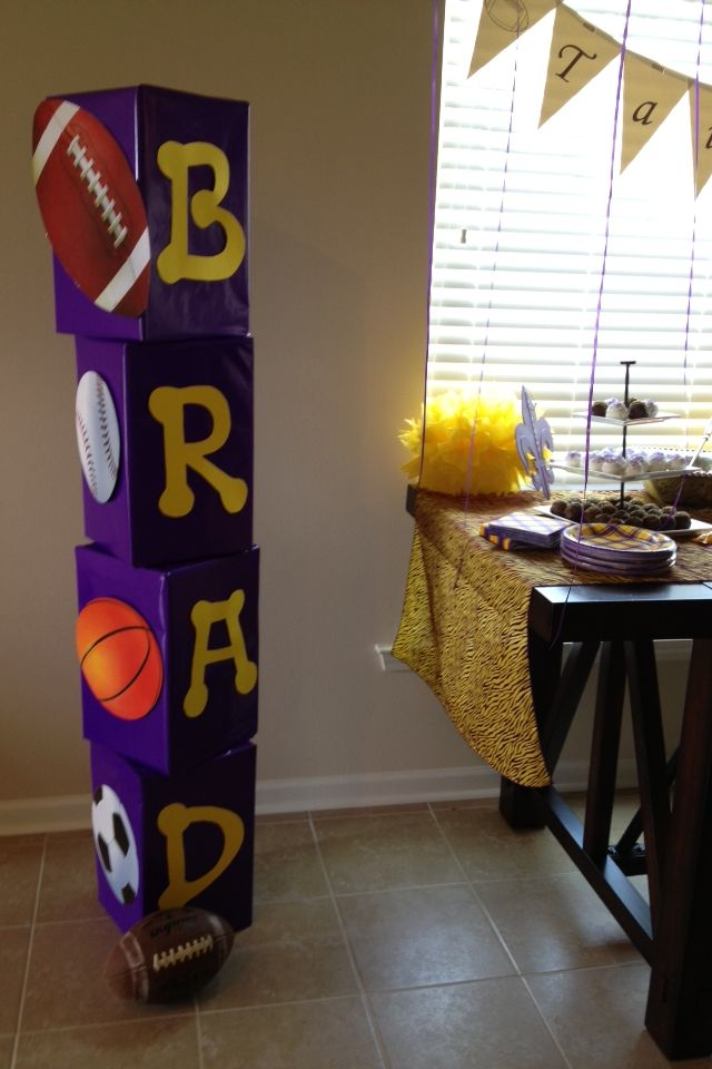 Wrap some old boxes for any birthday party or shower! Great idea!