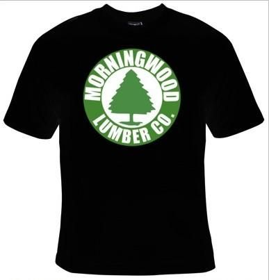 Morning Wood Lumber Company T-Shirt Men's
