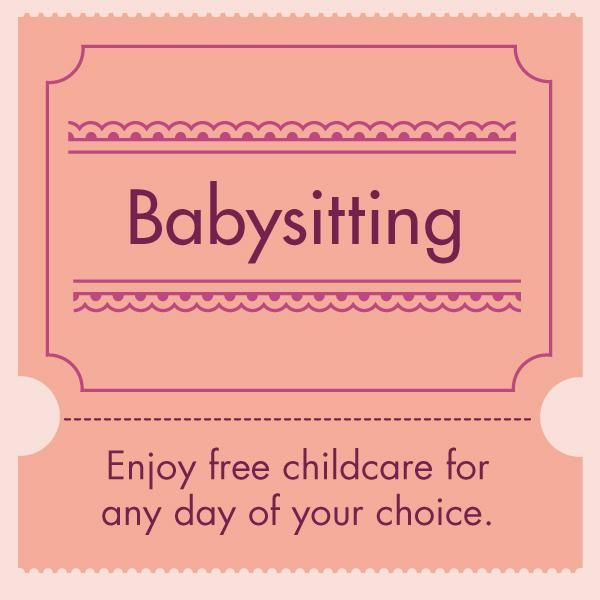18 best Mothers Day Printable Coupons images on Pinterest Mother\u0027s - babysitting pass