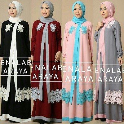 ARAYA BY QUEENALABELS  Set dress pasmina Bahan ity crepe & lace prada  all size LD 100 pjng 140  Retail: 405.000 Reseller 385.000 est. ready 6 nov  Dp 50% = booking  Line @kni7746k  Wa 62896 7813 6777  #pin #arayabyqueenalabels #hijaboftheday #hijaberbrandedterbaru #ottdhijabbranded #ottdhijabbrandedindonesia #gamisbrandedoriginalmurah #distributorgamisbasicbranded #distributorgamisbrandedmodis