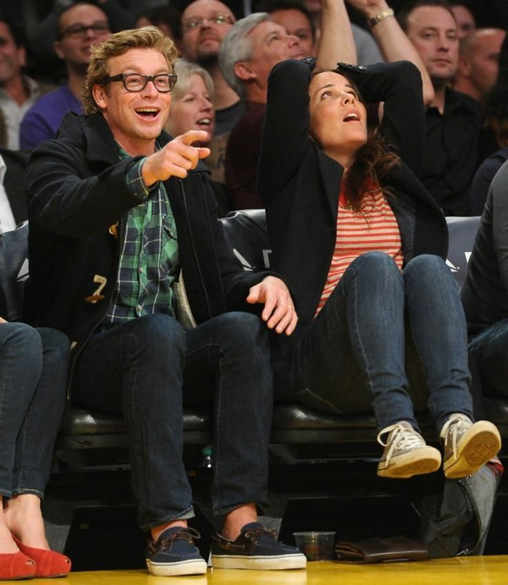 Robin Tunney And Simon Baker Kiss 15 best images about B...