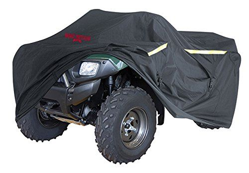 "Ultimate Heavy Duty ATV Cover, Industrial Grade. All Weather Protection, Integrated Trailer System, Waterproof, Reflective, Zipper Tank Access From Outdoors, Storage Bag, LARGE 95"" Long. For product info go to:  https://www.caraccessoriesonlinemarket.com/ultimate-heavy-duty-atv-cover-industrial-grade-all-weather-protection-integrated-trailer-system-waterproof-reflective-zipper-tank-access-from-outdoors-storage-bag-large-95-long/"