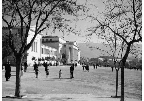 Voula Papaioannou, Zappeio, Athens 1935-39