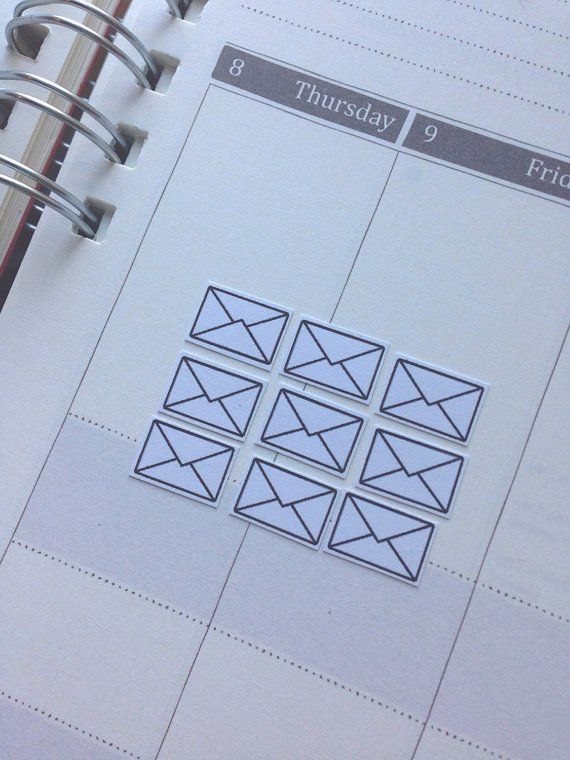 SALE Mini Envelope Mail Planner Stickers for Erin by JULYDESIGNXO