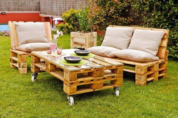 Terraza jardín, especial para fin de semanas al aire libre