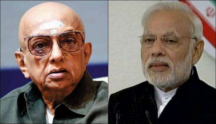 Founder and Editor of Thuglak magazine, Cho Ramaswamy passed away on 7 December at Apollo Hospital in Chennai.A political analyst and a satirical person, Ramaswamy had earlier come down heavily on the ruling government in the state as well as Centre through his magazine.Also Read: