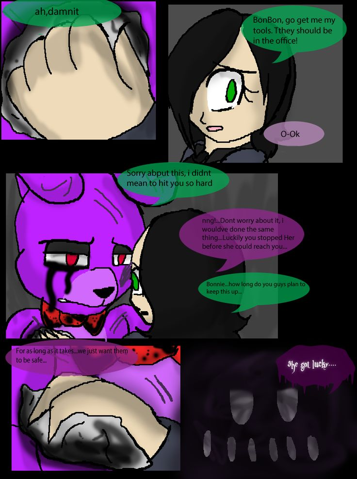 FNAF Comic- The New Threat -pg.12- by TheFuzzies on ...