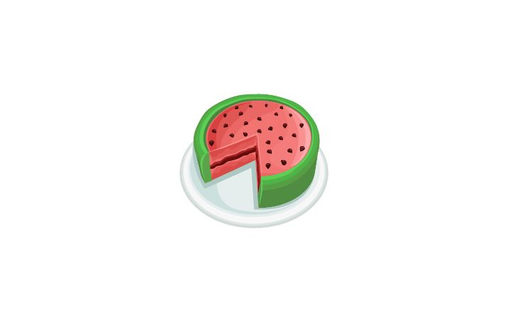 Watermelon Cake Vector Image #watermelon #summer #snacks  http://www.vectorvice.com/summer-snacks-pack