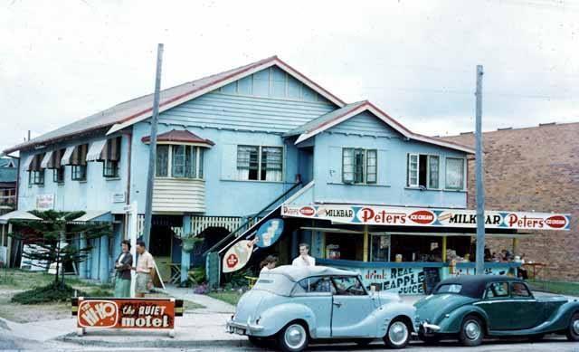 Milk Bar...cnr Cavill Ave. Surfers Paradise...1958...Courtesy Arthur Leebold