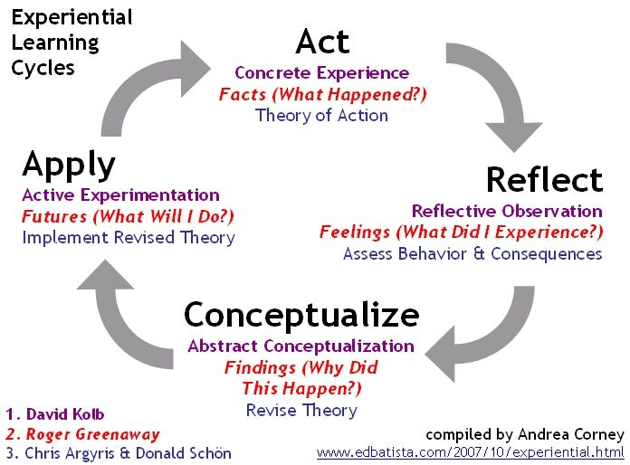 critical observation reflection