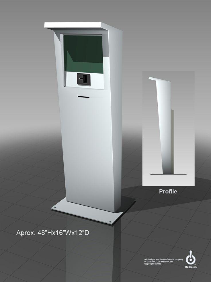 12 best kiosk design images on pinterest kiosk design for Exterior kiosk design