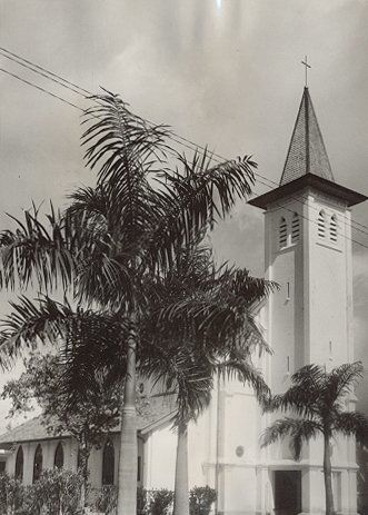 Catholic Church in the Koningsplein Makassar circa 1930.