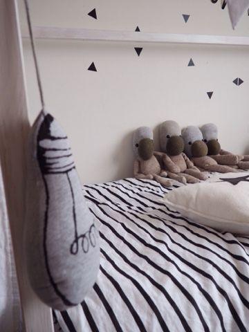 Bo's zwart wit kamer.... | &stijl