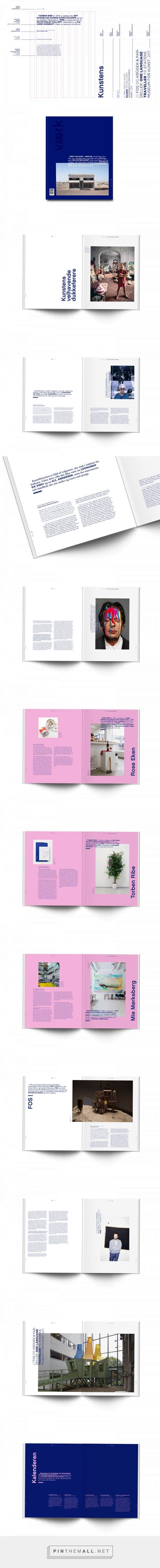 Magazine redesign VÆRK | Editorial Design on Behance... - a grouped images picture - Pin Them All