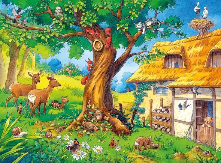 Describing Garden - Animals - Farm. Visit: www.emilieslanguages.com or https://www.facebook.com/emilieslanguages #emilieslanguages