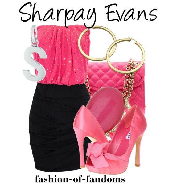 """Sharpay Evans"" by fofandoms on Polyvore"