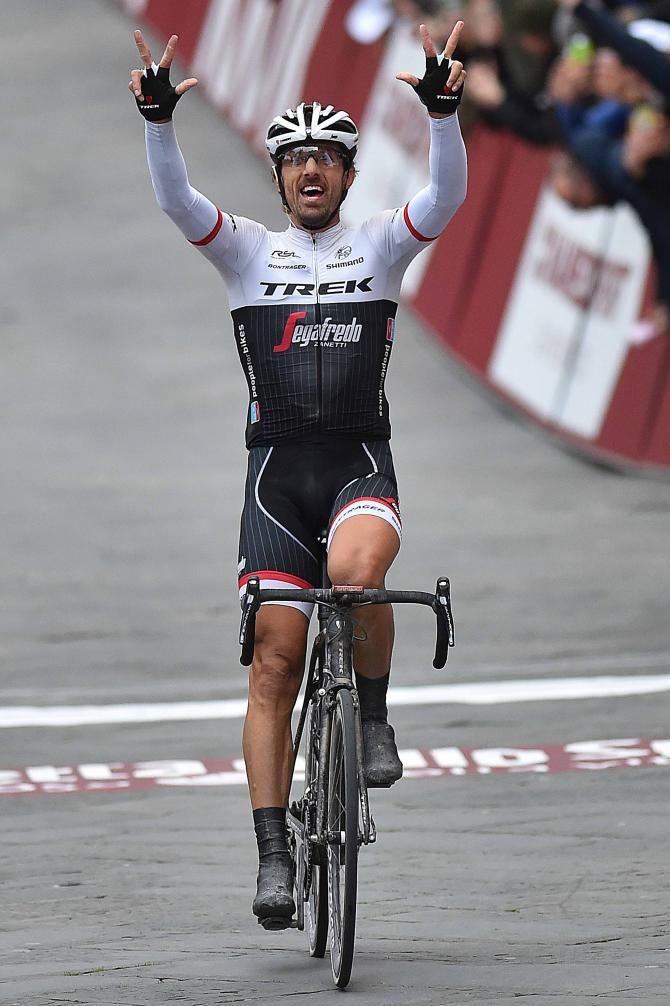 Fabian Cancellara (Trek-Segafredo) wins Strade Bianche 2016 (Tim de Waele/TDWSport.com)