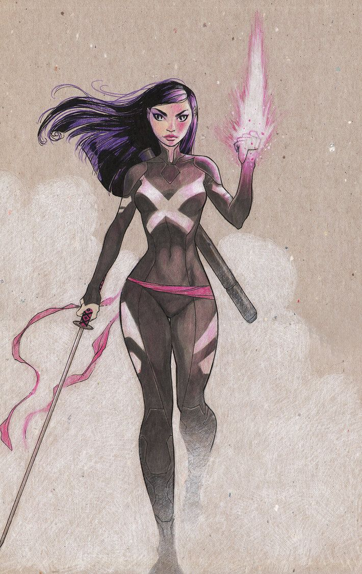 Psylocke for Trevor by MicahJGunnell on DeviantArt
