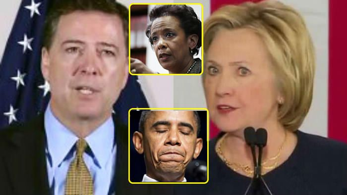 Clinton Knows! Obama Knows! Comey Knows! Lynch Knows! They Are ALL Going to JAIL!