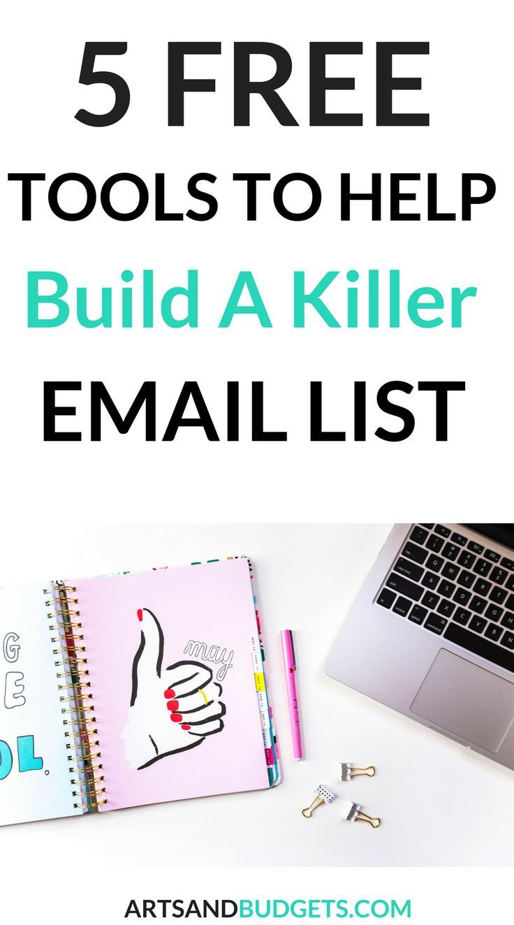 Looking for ways to grow your email list? If so, check out this post which is filled with 5 top tools to rapidly grow your email list quickly! - How to grow email | Email Marketing | Email list marketing tips| Grow Blog Traffic | Blogging tips| Blogging|