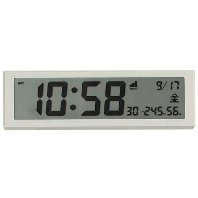 MUJI alarm clock. Auto adjustment. Always correct.