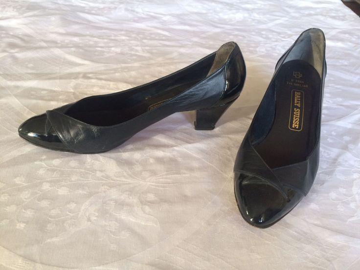 Bally Schuhe Damen Pumps schwarz Echtleder Lack Leder Gr. 40,5 vintage  in Kleidung & Accessoires, Damenschuhe, Pumps | eBay!
