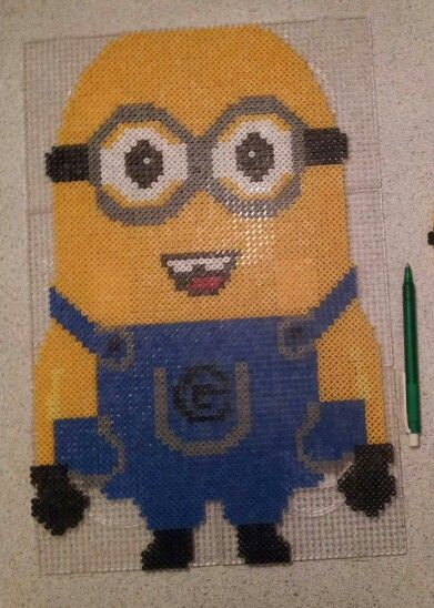 Big minion. It took a long time and alot of pearlbeads